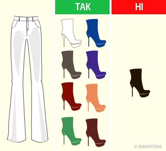 Єдине «але»  стилісти не рекомендують для повсякденних або тим більше  офісних образів надягати чорне взуття під білі штани. Це виглядає дещо  претензійно. cca34314898f1