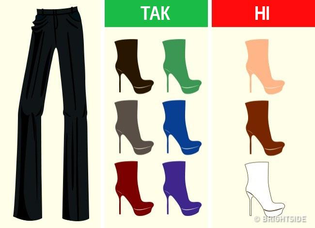 Як підібрати колір взуття до будь-якого одягу і навпаки • Тутка 80febdd040449