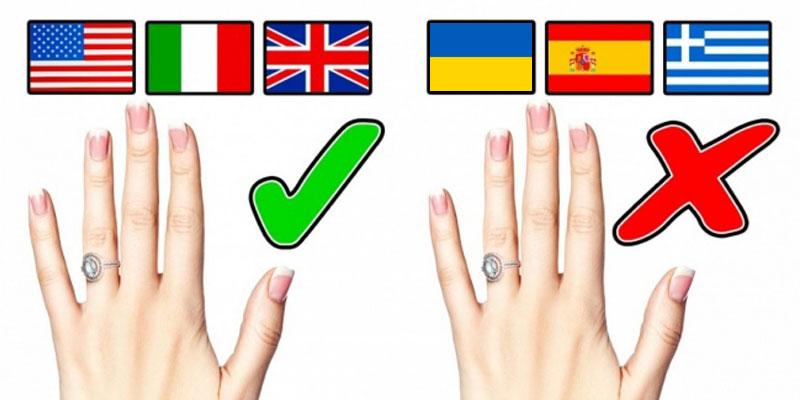 Чому в одних країнах обручки носять на лівій руці f5a67300c57e1