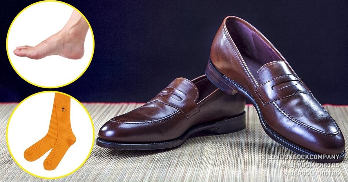 Зі шкарпетками або без  10 видів чоловічого взуття 8c8b979ba69c6