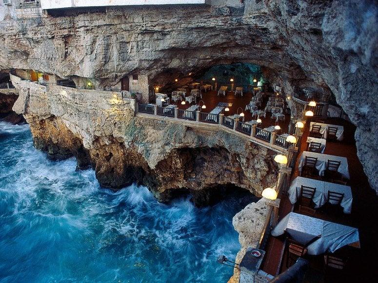 Готель Grotta Palazzese